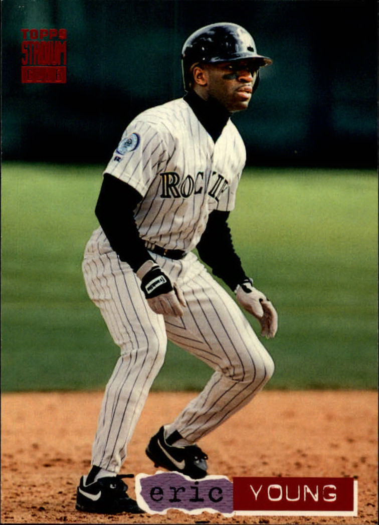 1994 Stadium Club #72 Eric Young
