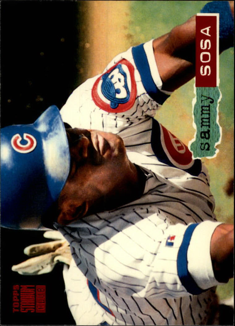 1994 Stadium Club #80 Sammy Sosa