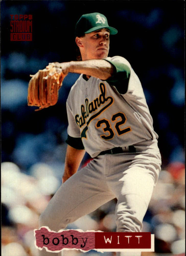 1994 Stadium Club #91 Bobby Witt