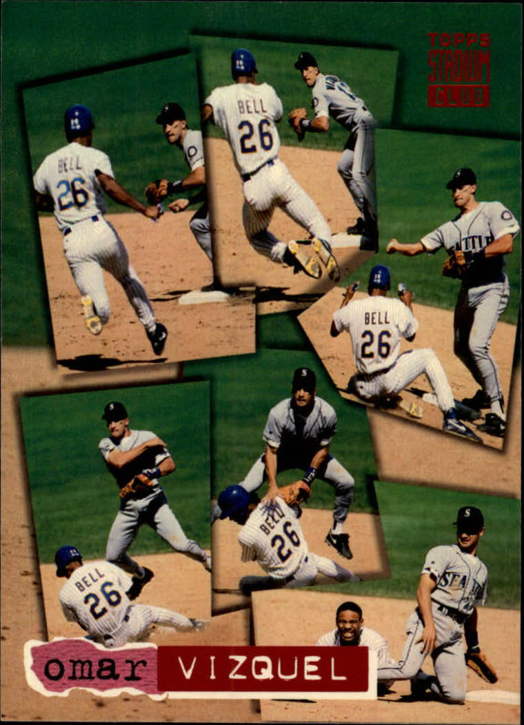 1994 Stadium Club #93 Omar Vizquel