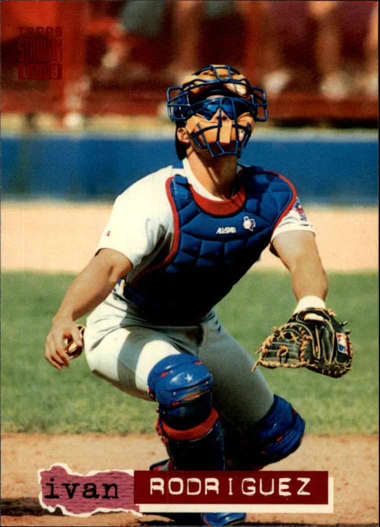1994 Stadium Club #116 Ivan Rodriguez