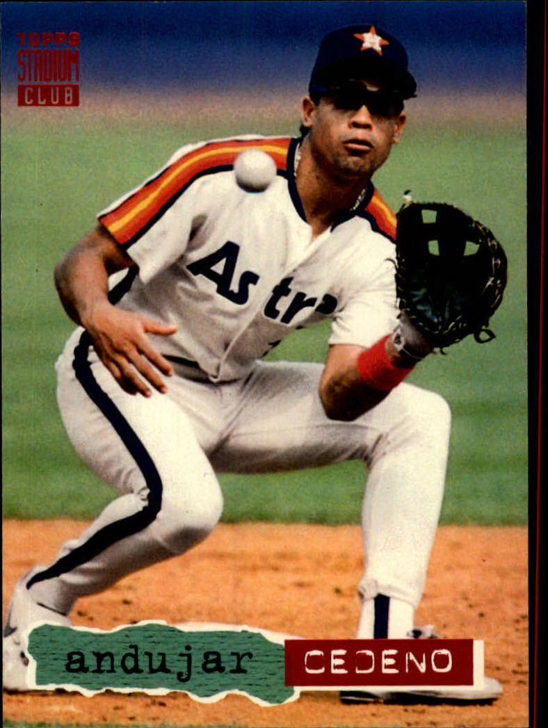 1994 Stadium Club #138 Andujar Cedeno