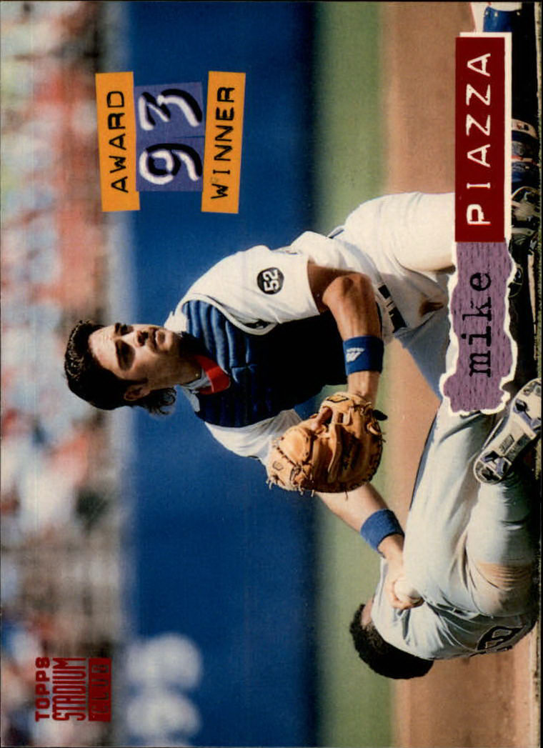 1994 Stadium Club #140 Mike Piazza