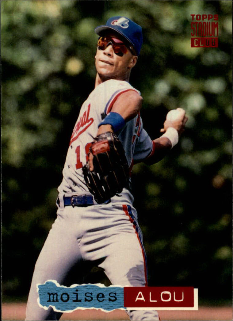 1994 Stadium Club #141 Moises Alou