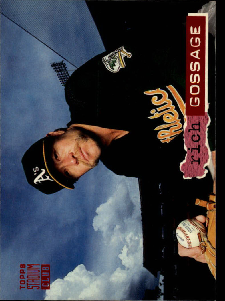 1994 Stadium Club #191 Rich Gossage