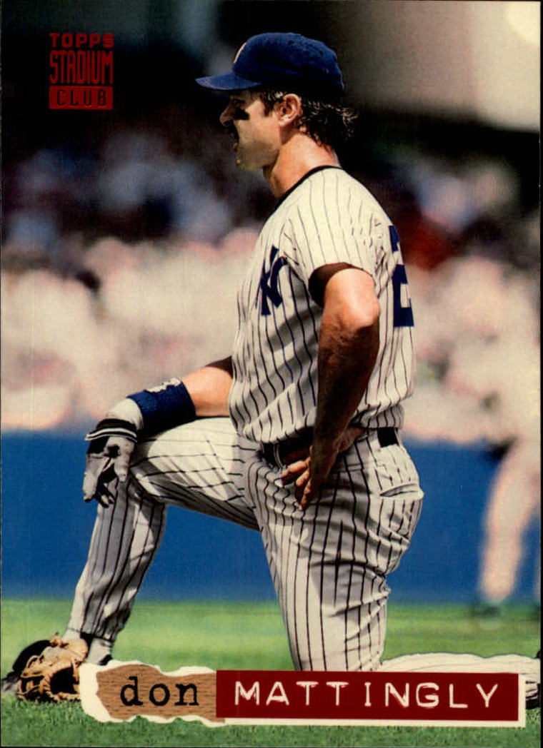 1994 Stadium Club #195 Don Mattingly