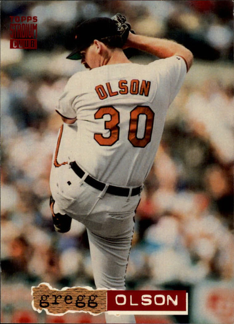 1994 Stadium Club #196 Gregg Olson