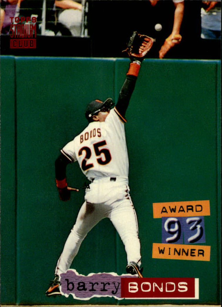 1994 Stadium Club #238 Barry Bonds