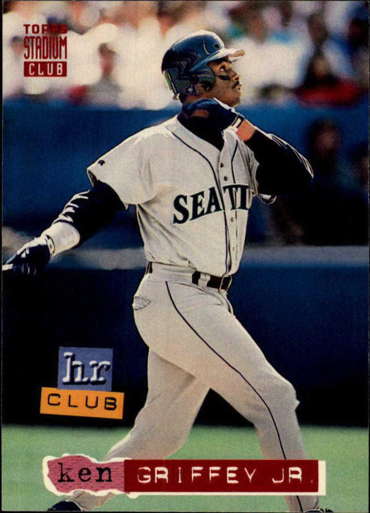 1994 Stadium Club #262 Ken Griffey Jr. HR
