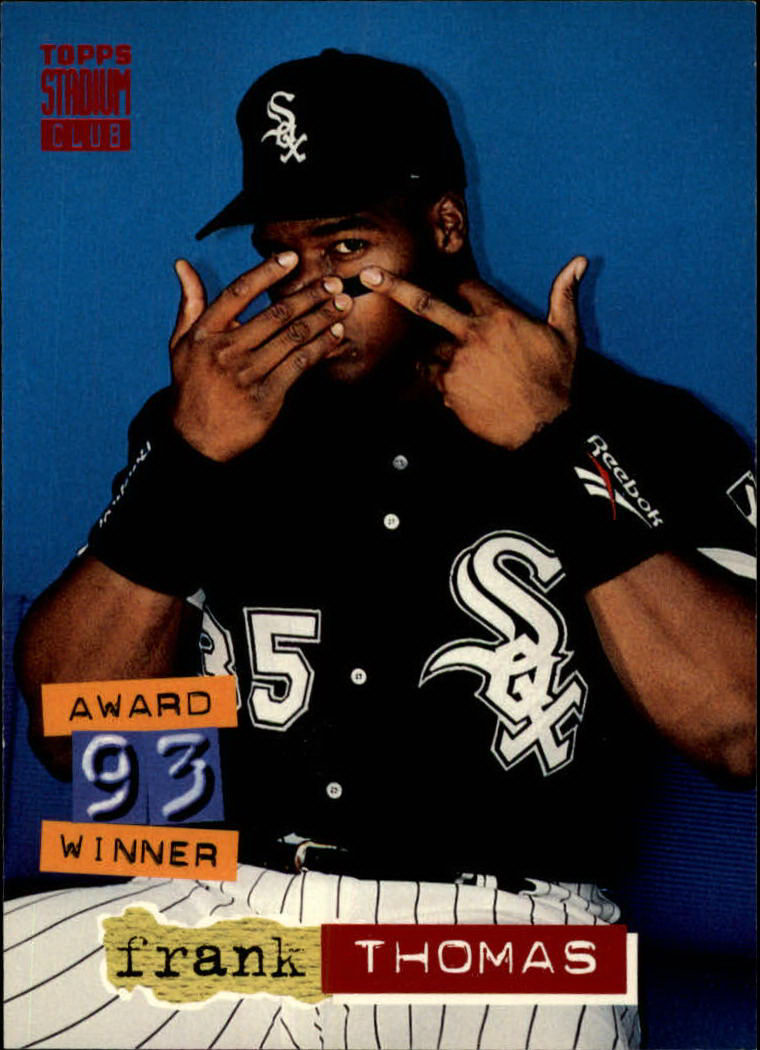 1994 Stadium Club #285 Frank Thomas