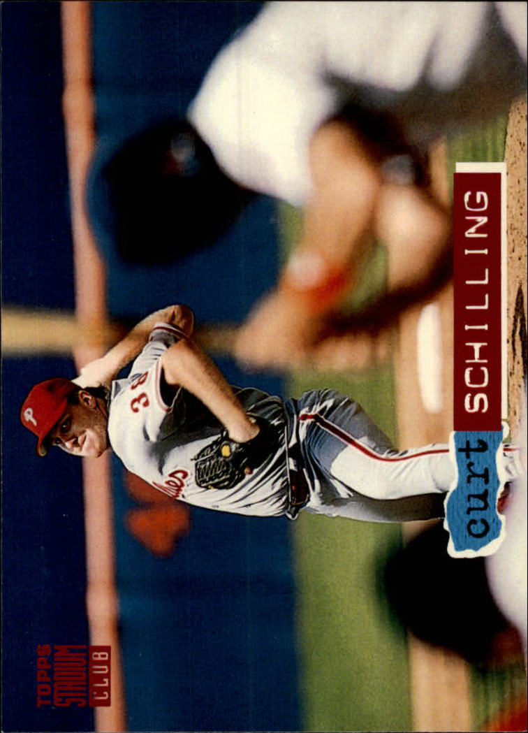 1994 Stadium Club #289 Curt Schilling