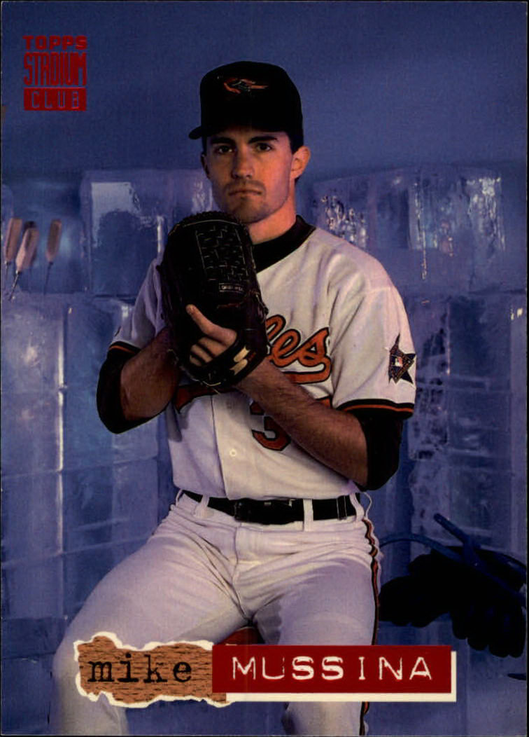 1994 Stadium Club #488 Mike Mussina