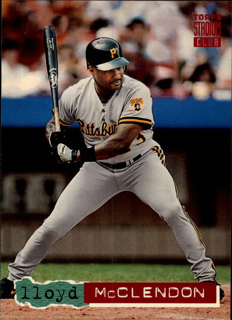 1994 Stadium Club #511 Lloyd McClendon