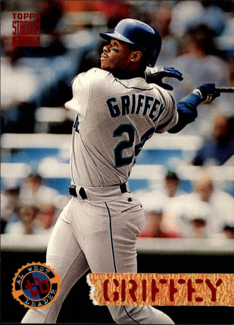 1994 Stadium Club #529 Ken Griffey Jr. DL