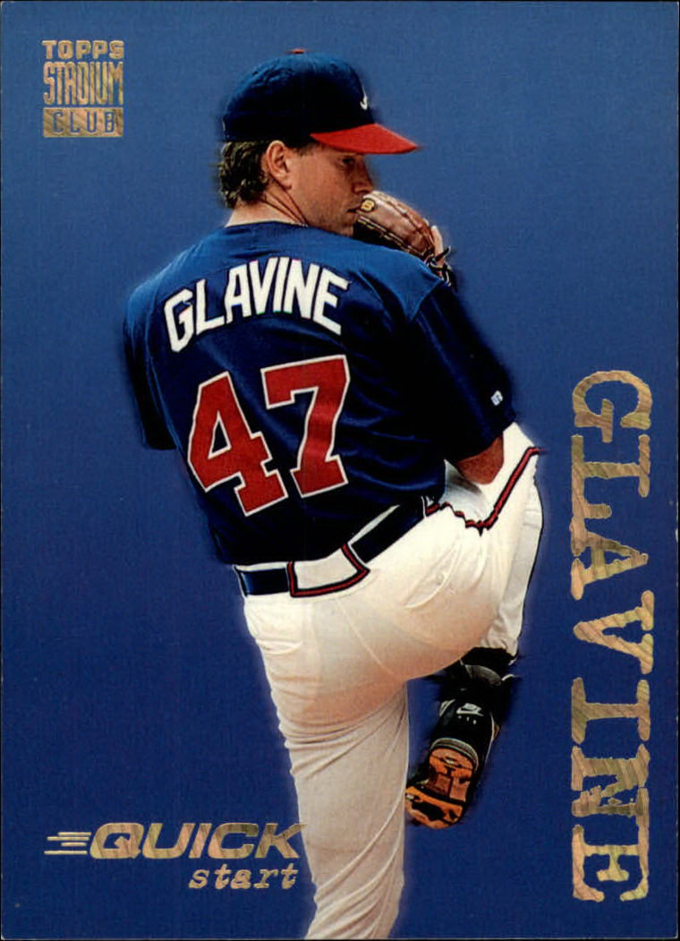 1994 Stadium Club #538 Tom Glavine QS