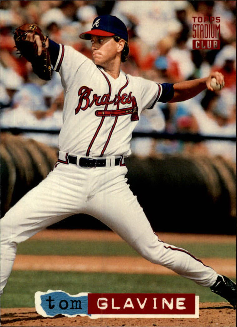 1994 Stadium Club #574 Tom Glavine
