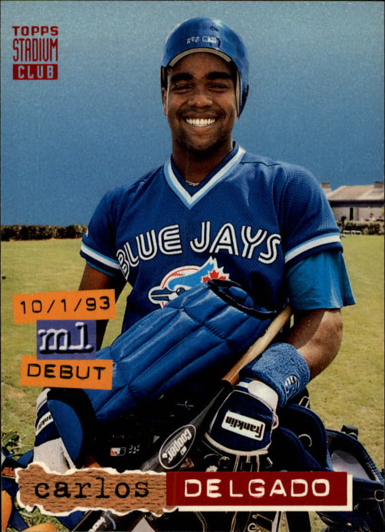 1994 Stadium Club #600 Carlos Delgado
