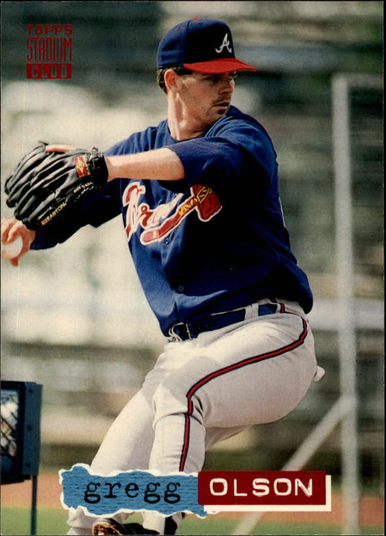 1994 Stadium Club #602 Gregg Olson