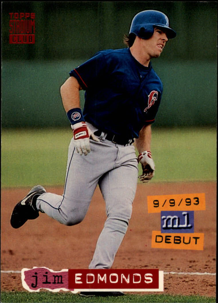 1994 Stadium Club #603 Jim Edmonds