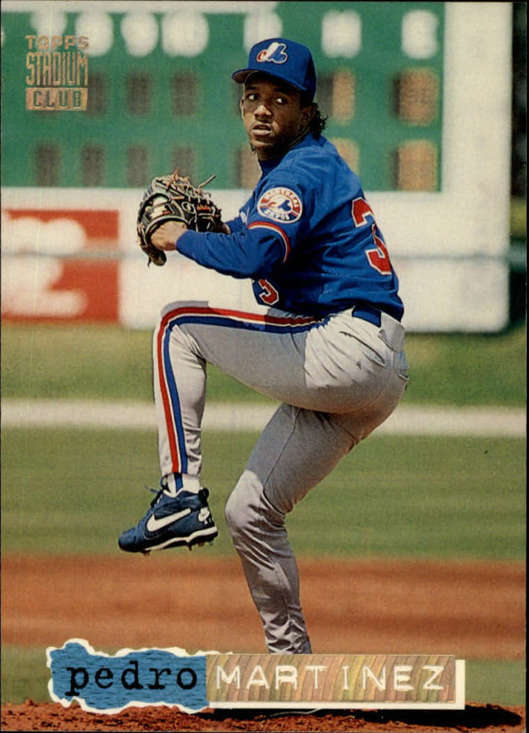 1994 Stadium Club #611 Pedro Martinez