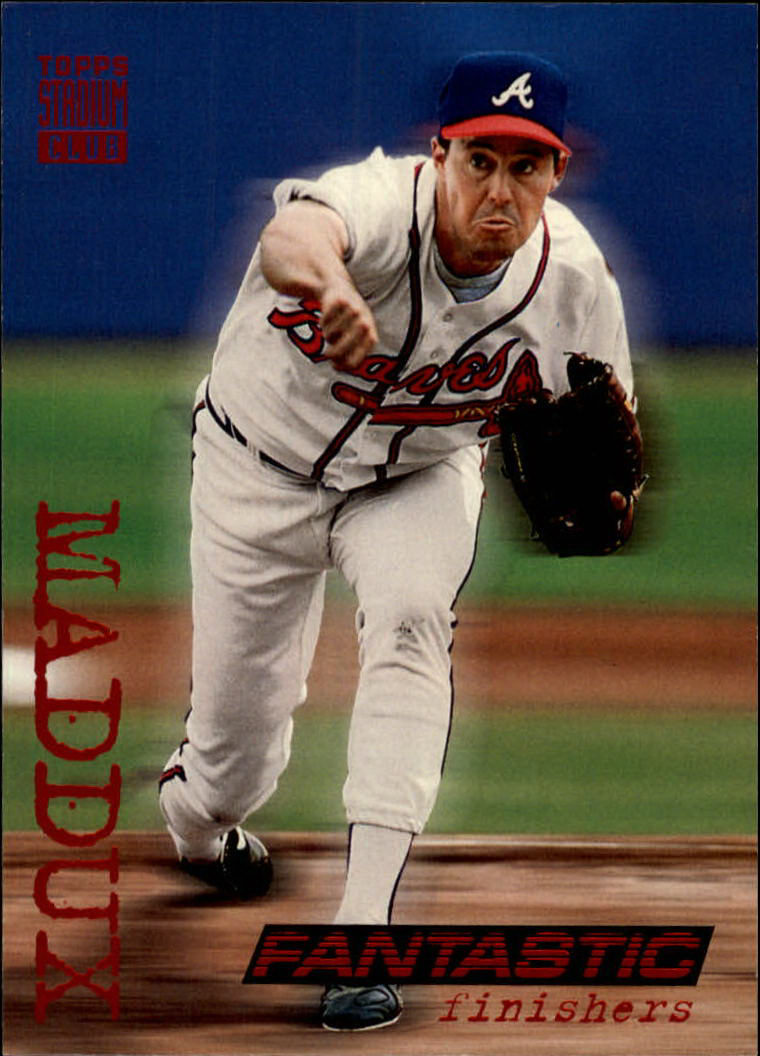 1994 Stadium Club #716 Greg Maddux FAN