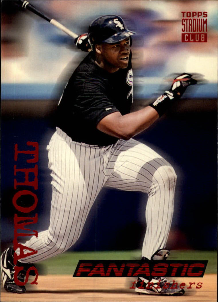 1994 Stadium Club #718 Frank Thomas FAN