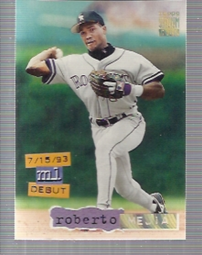 1994 Stadium Club Golden Rainbow #21 Roberto Mejia