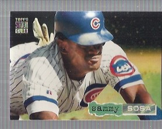 1994 Stadium Club Golden Rainbow #80 Sammy Sosa