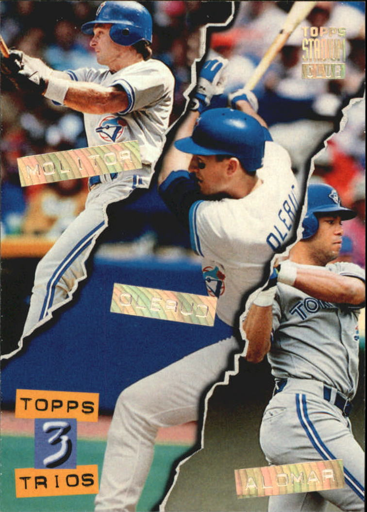 1994 Stadium Club Golden Rainbow #110 Alomar/Molitor/Olerud