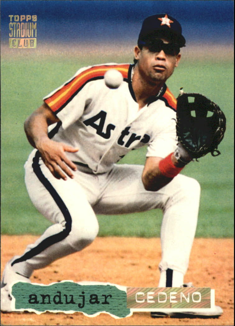 1994 Stadium Club Golden Rainbow #138 Andujar Cedeno