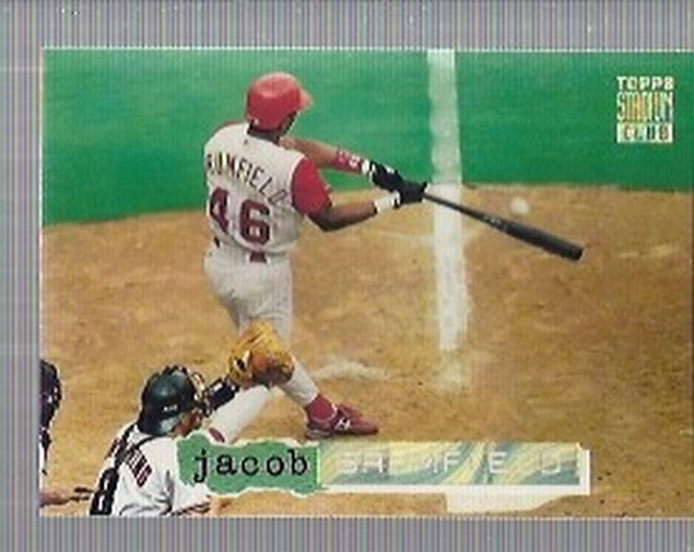 1994 Stadium Club Golden Rainbow #166 Jacob Brumfield