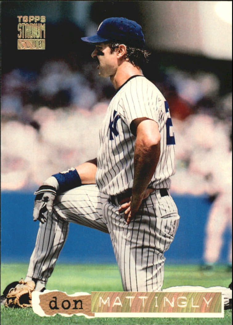 1994 Stadium Club Golden Rainbow #195 Don Mattingly