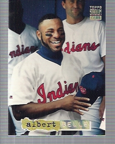 1994 Stadium Club Golden Rainbow #219 Albert Belle