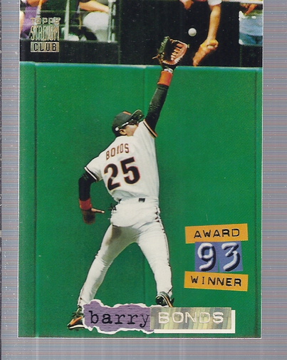 1994 Stadium Club Golden Rainbow #238 Barry Bonds