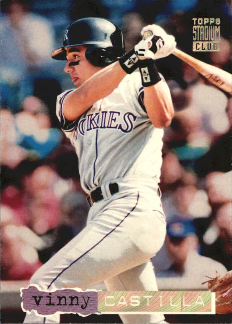 1994 Stadium Club Golden Rainbow #244 Vinny Castilla