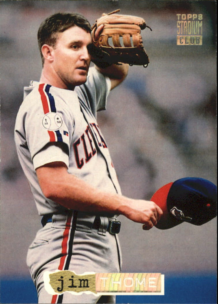 1994 Stadium Club Golden Rainbow #257 Jim Thome
