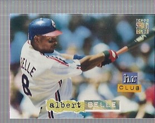 1994 Stadium Club Golden Rainbow #258 Albert Belle HR