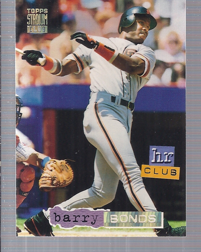 1994 Stadium Club Golden Rainbow #259 Barry Bonds HR