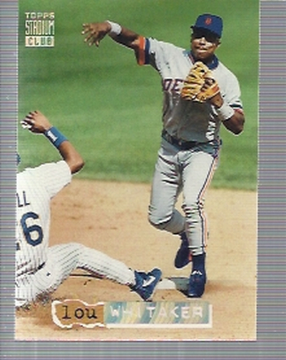 1994 Stadium Club Golden Rainbow #443 Lou Whitaker