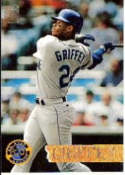 1994 Stadium Club Golden Rainbow #529 Ken Griffey Jr. DL