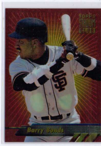 1994 Stadium Club Finest #F3 Barry Bonds