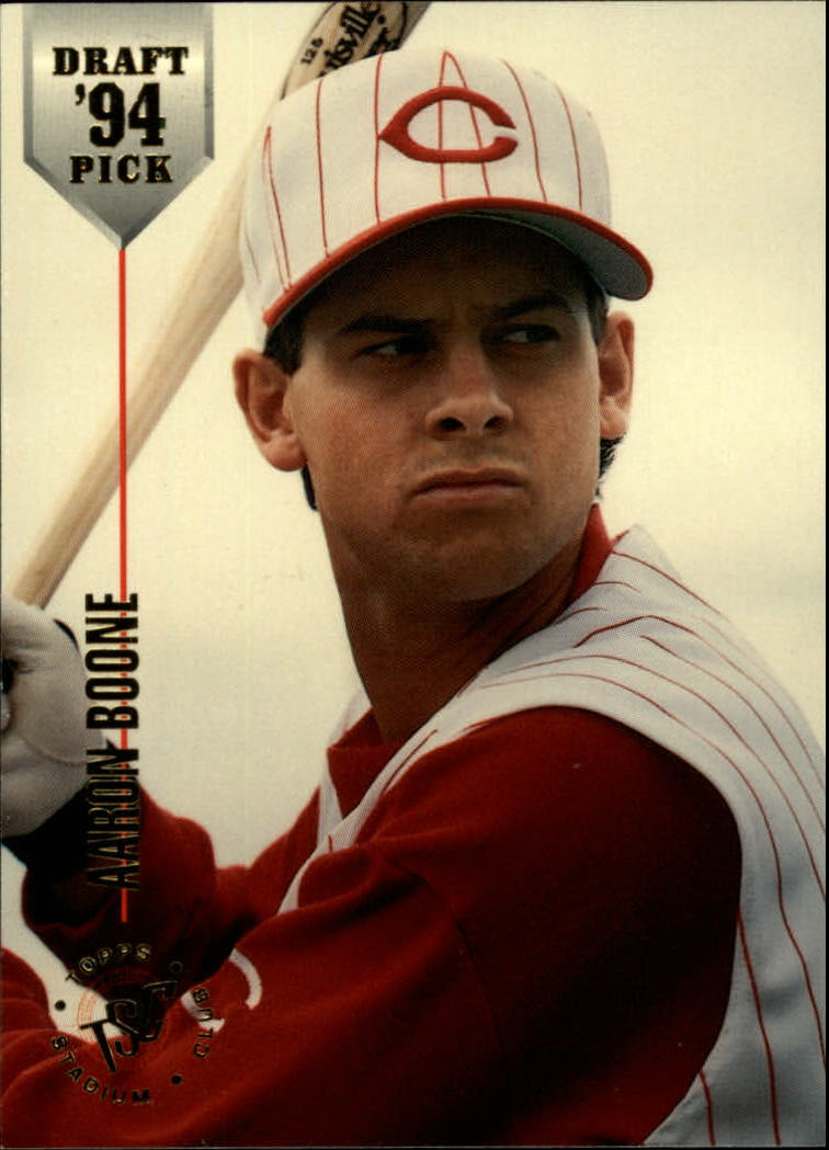 1994 Stadium Club Draft Picks #10 Aaron Boone XRC