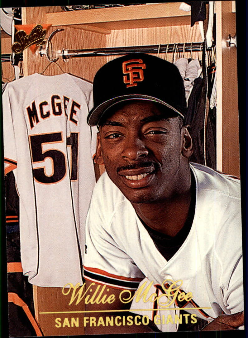 1994 Studio #86 Willie McGee