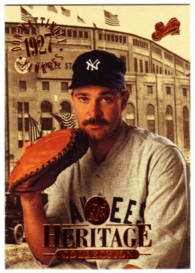 1994 Studio Heritage #4 Don Mattingly
