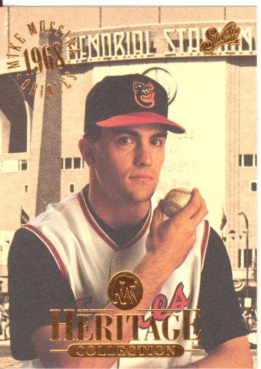 1994 Studio Heritage #8 Mike Mussina