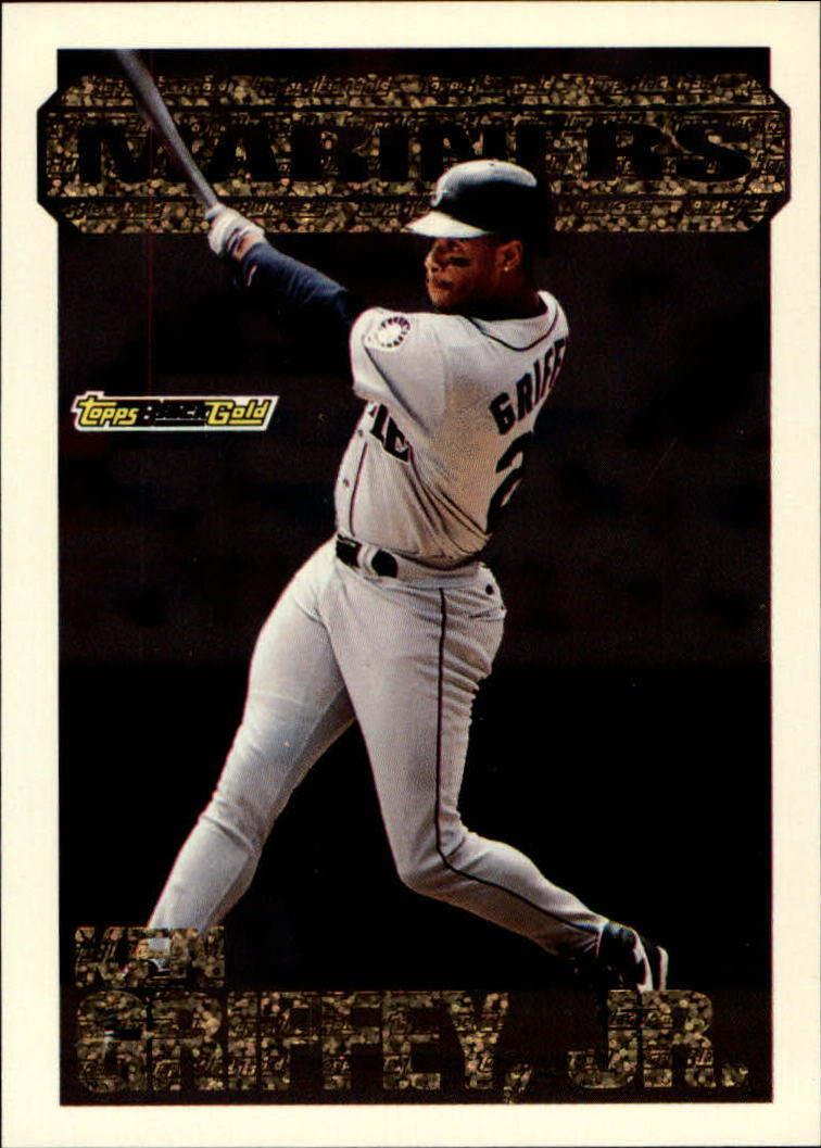1994 Topps Black Gold #8 Ken Griffey Jr.