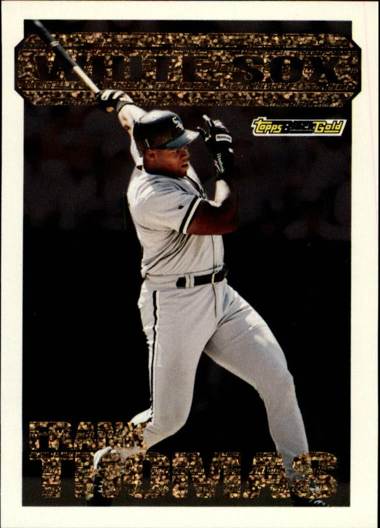 1994 Topps Black Gold #21 Frank Thomas