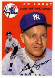 1994 Topps Archives 1954 #5 Ed Lopat