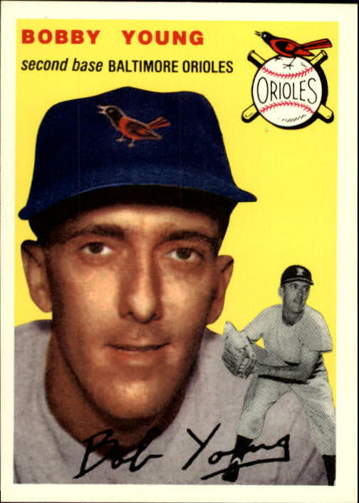 1994 Topps Archives 1954 #8 Bobby Young front image