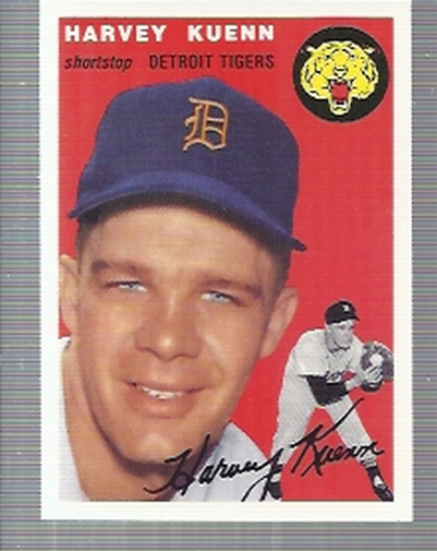 1994 Topps Archives 1954 #25 Harvey Kuenn
